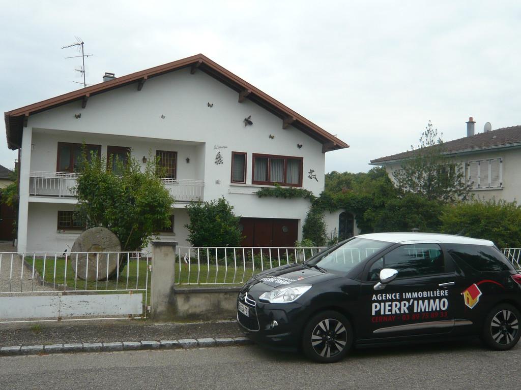 Achat vente maison de 7 pi ces issenheim 68500 for Location garage cernay