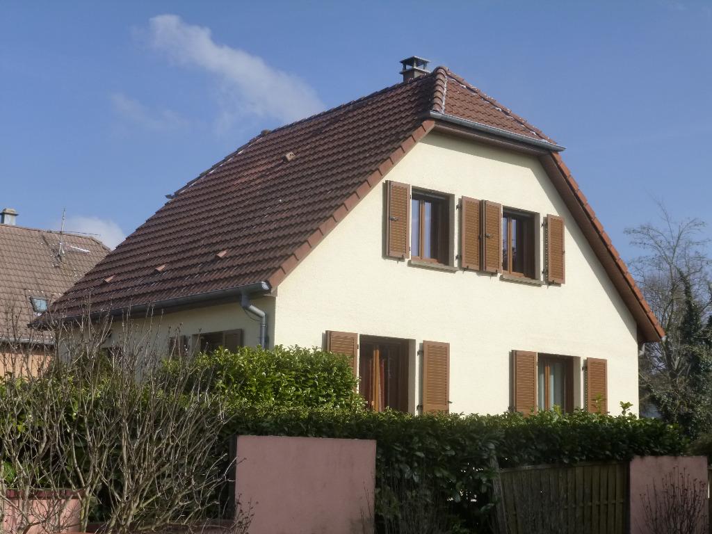 Achat vente maison de 5 pi ces wittelsheim 68310 for Achat maison 68