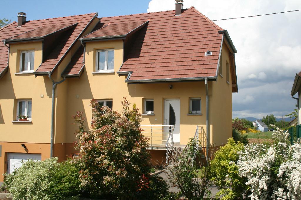 Location louer maison de 6 pi ces cernay 68700 for Location garage cernay